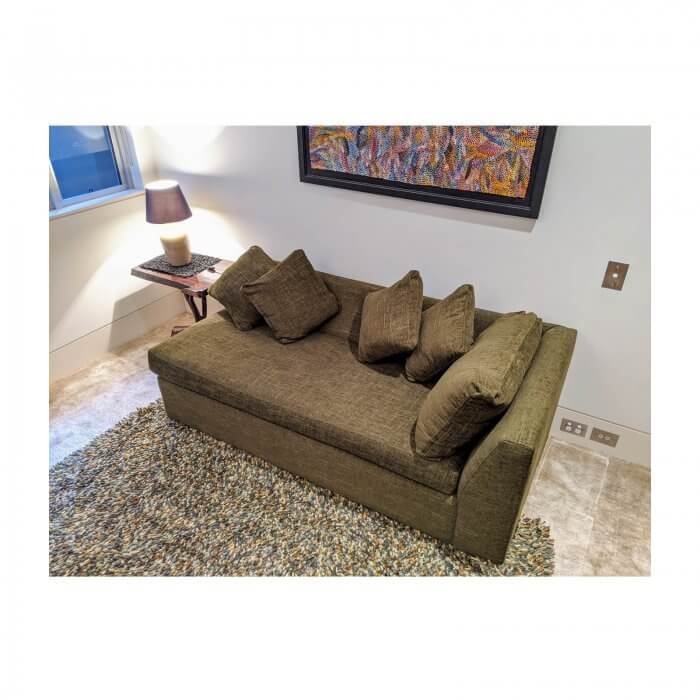 Sofa Bed with cushions