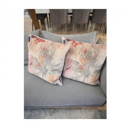 two design lovers Velvet Abstract print Cushions