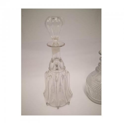 Vintage Crystal Decanters with Stoppers
