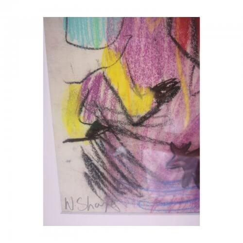 Wendy Sharpe artwork pastel