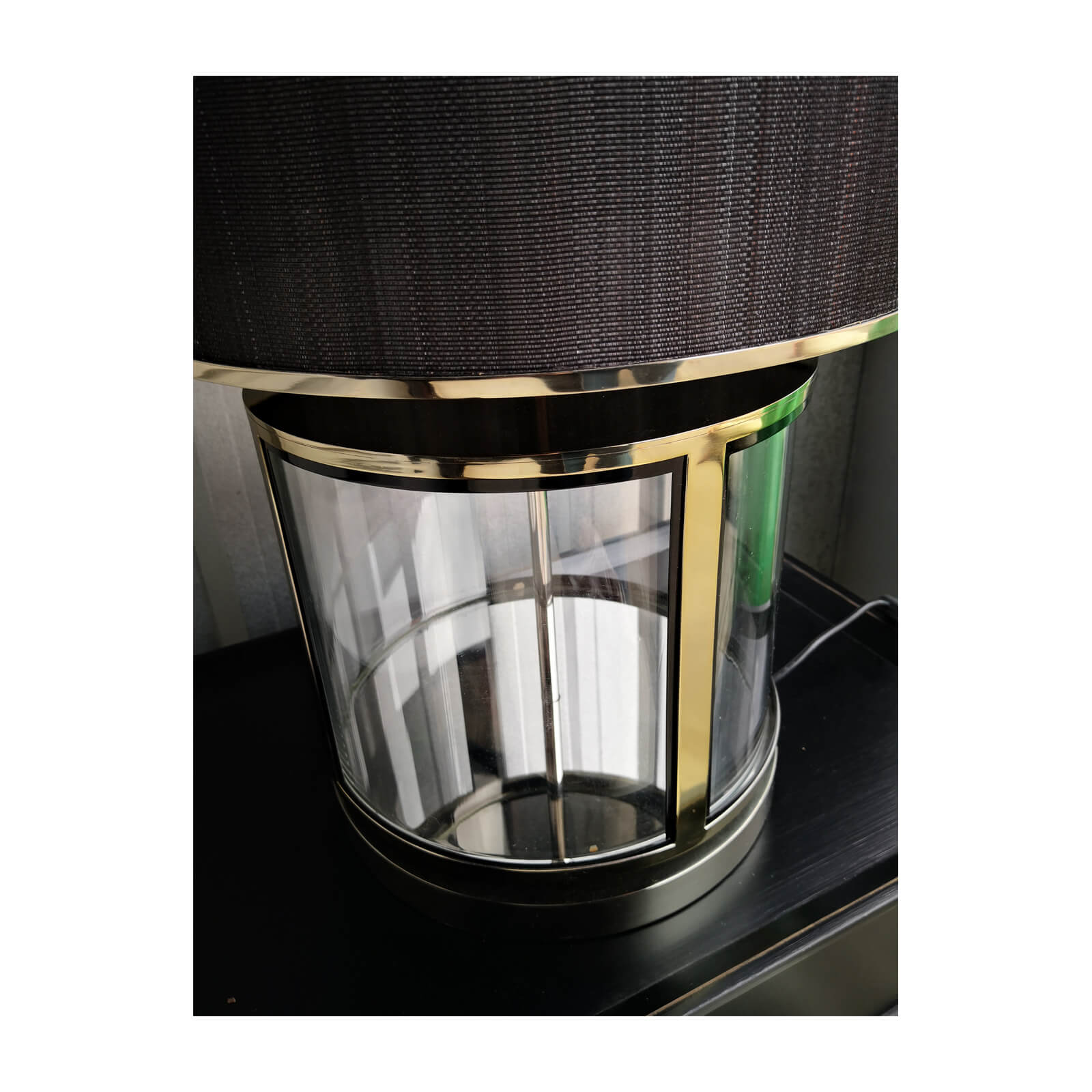 two design lovers blainey north glass lamp