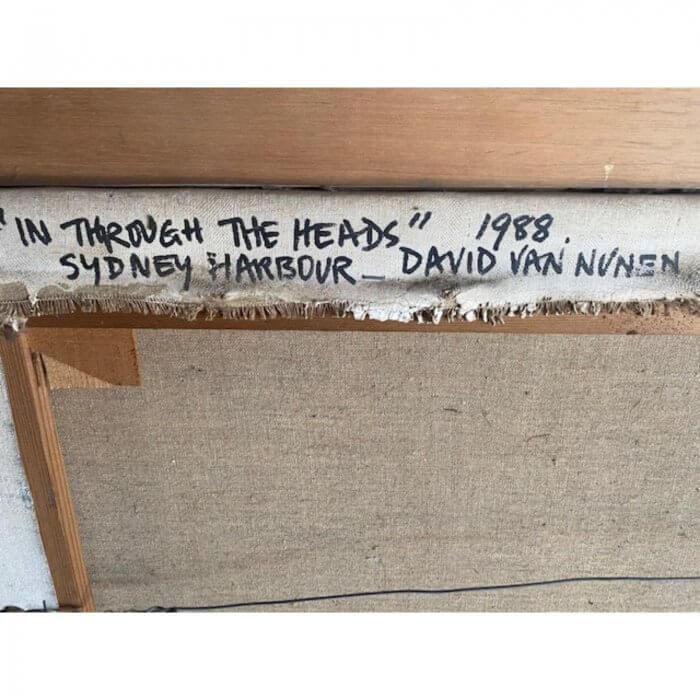 David Van Nunen - In Through The Heads 1988