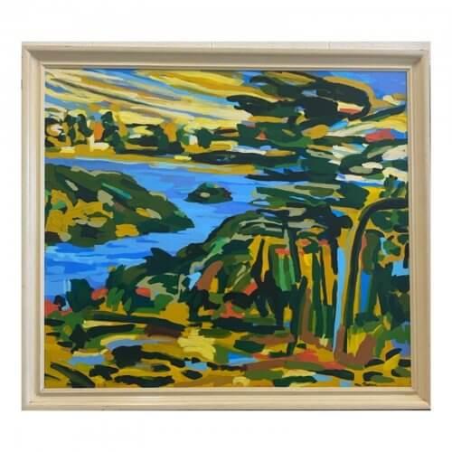 David Van Nunen - View to Woolloomooloo Bay 1989