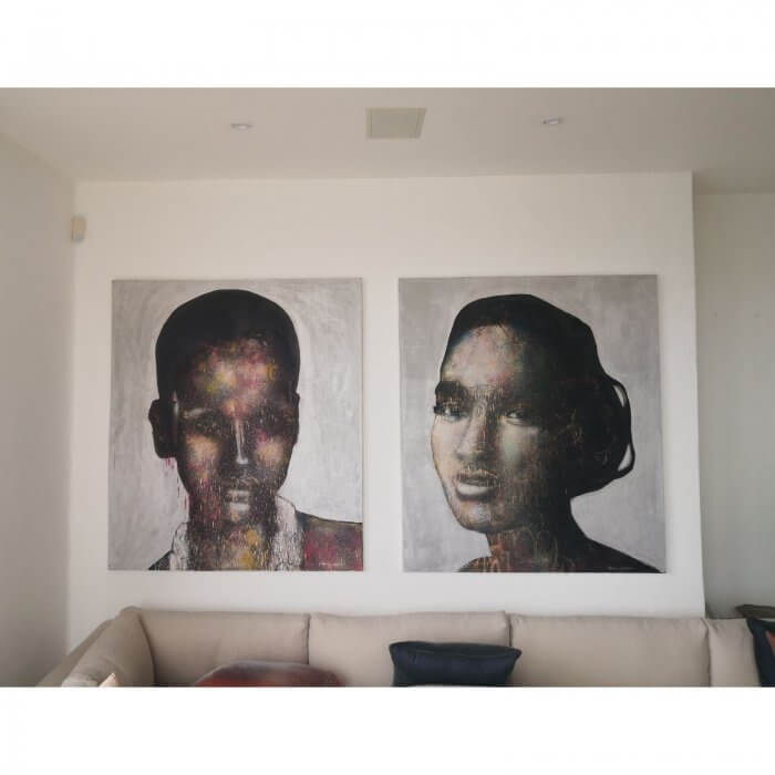 Dion Cupido Untitled portrait contemporary art