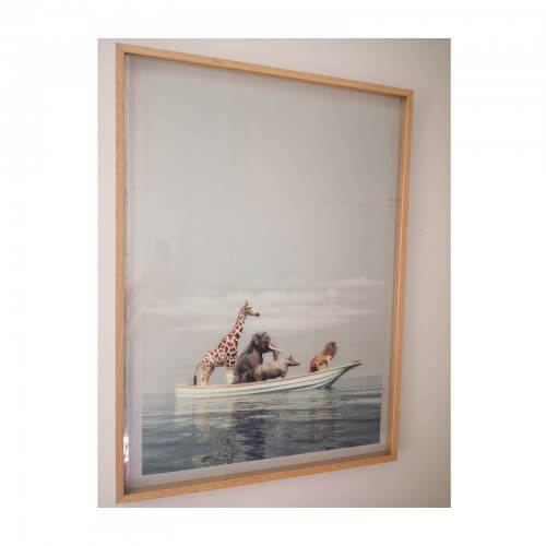 framed-photomontage prints safari animals