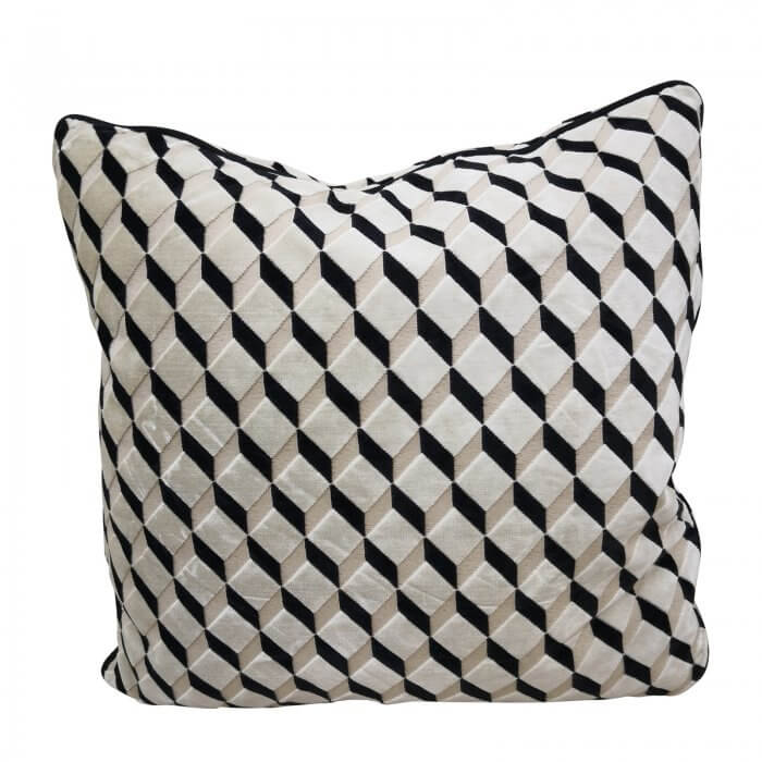 two design-lovers-geo-print-cushion