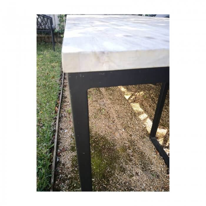 woven plus outdoor dining table