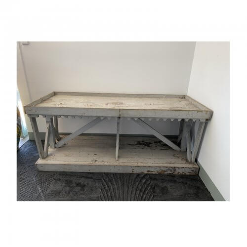 Antique French Blue Console