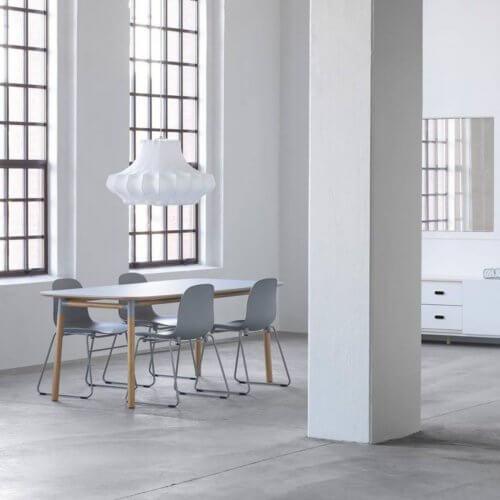 Norman Copenhagen Form table in grey