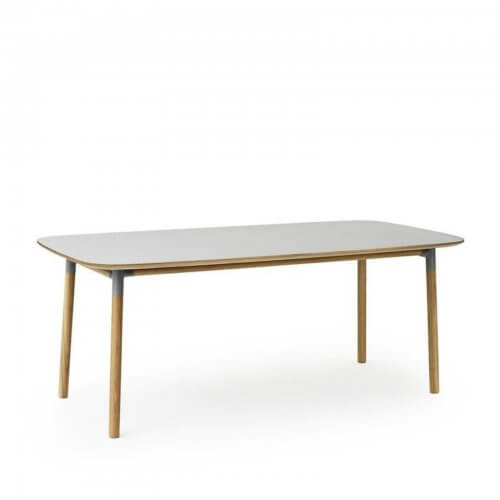 Norman Copenhagen Form table in grey