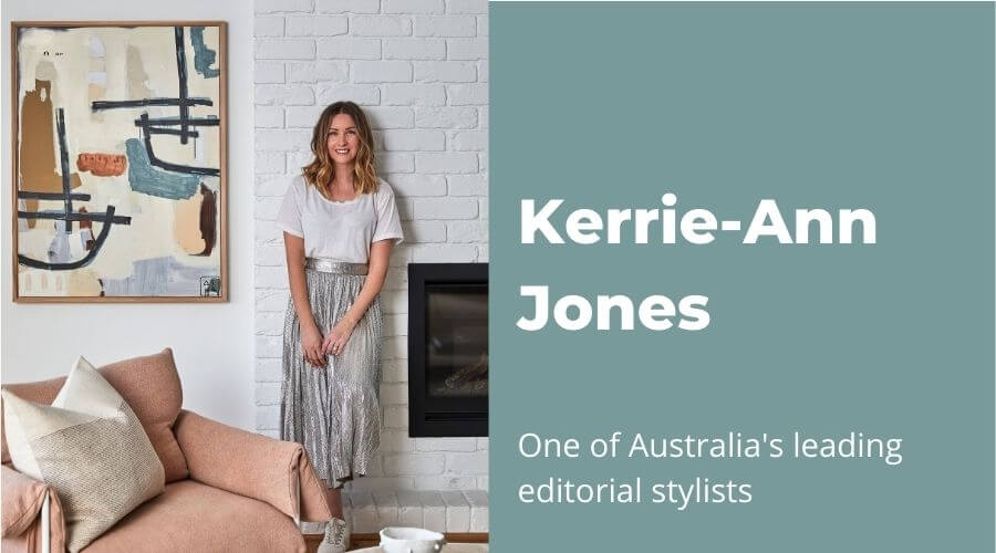 Q&A with Kerrie-Ann Jones, one of Australia's leading editorial stylists
