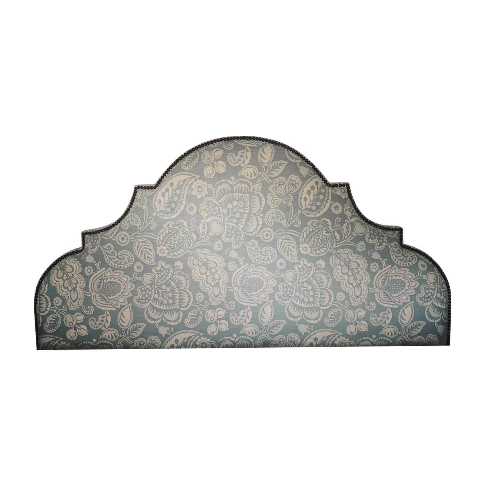 Custom Upholstered KB Bedhead & Valance