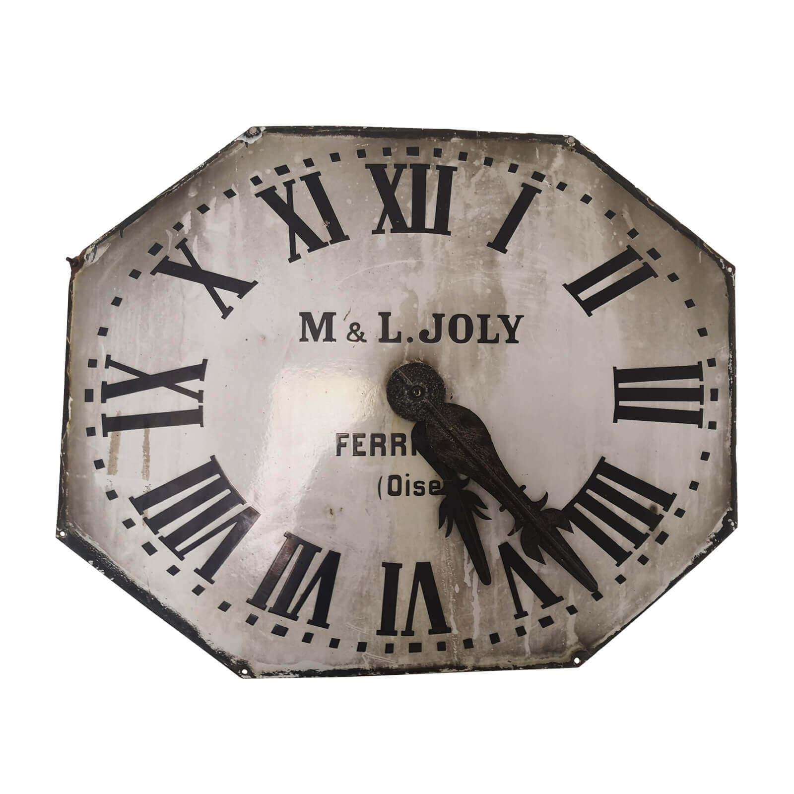 Antique Clock Octagon