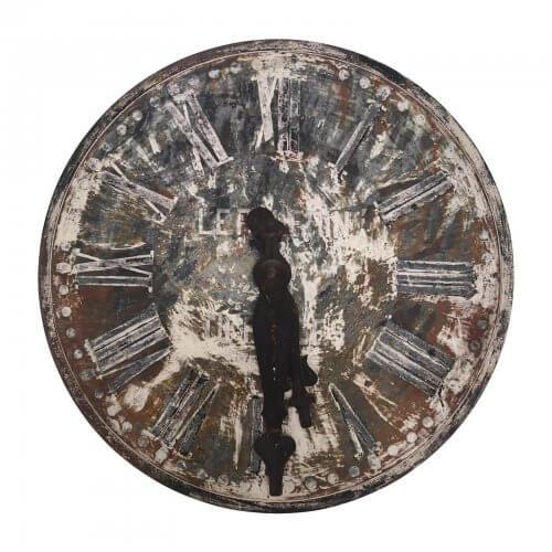 Antique Clock Round