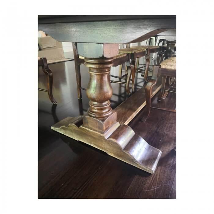 Dining Table, Pedestal Base