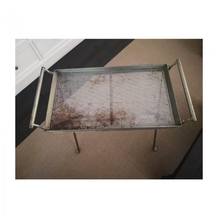 Metal Tray Table, 2 available