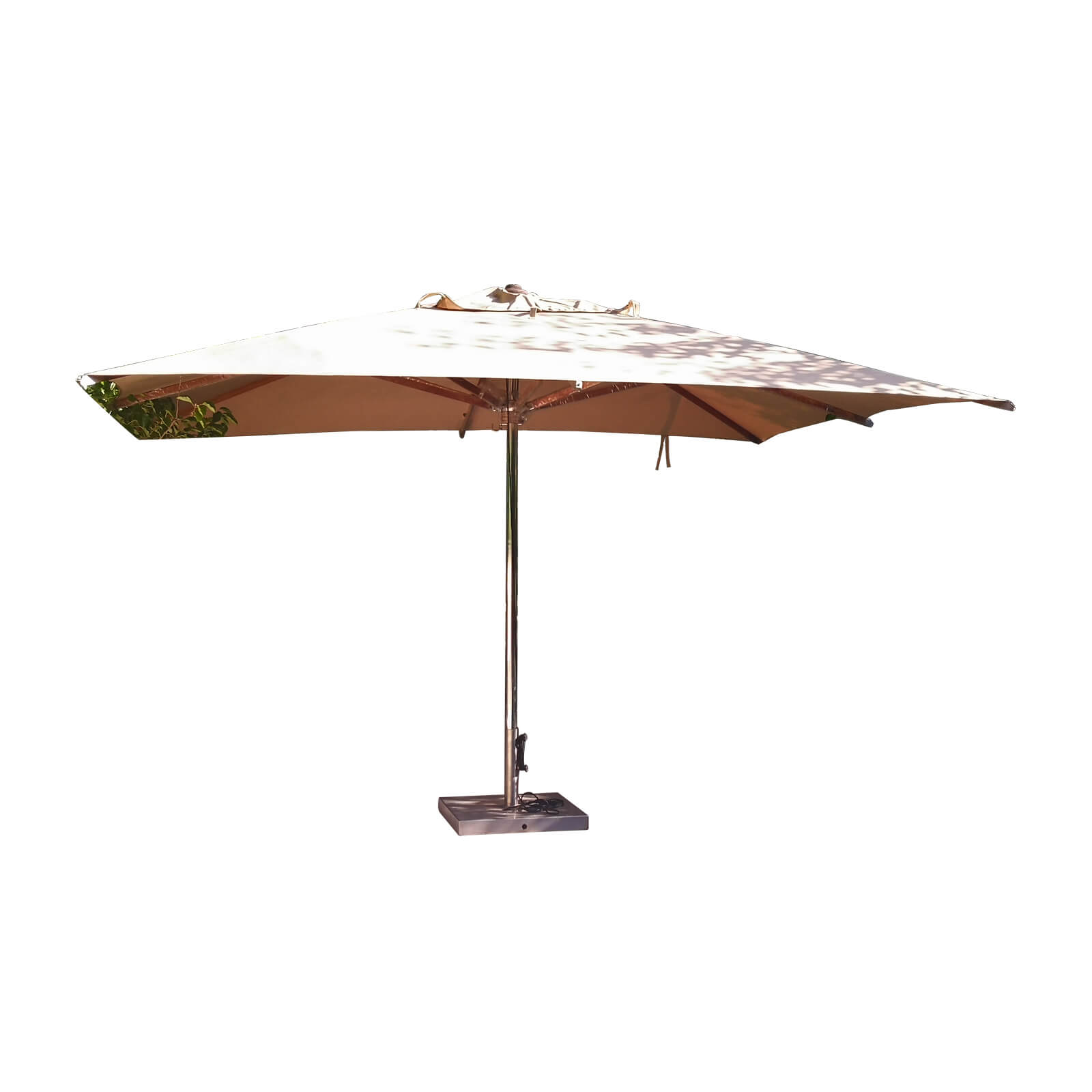 Royal Botania Shady Teak Outdoor Umbrella