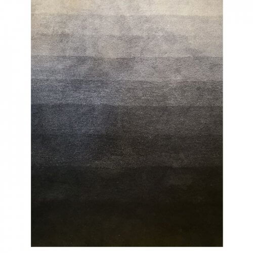 Coco Republic Dusk til Dawn navy blue ombre rug