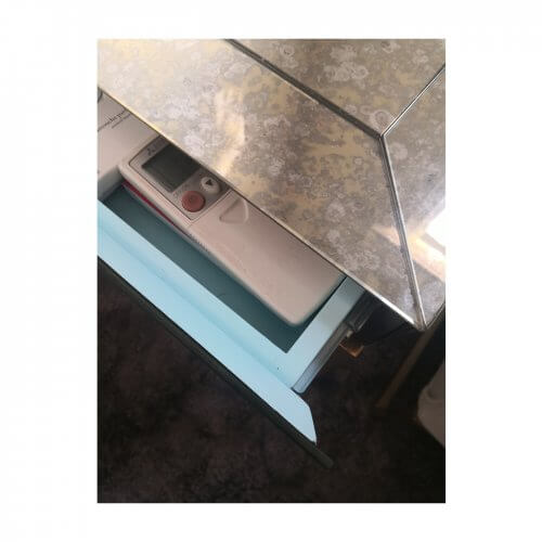 Jonathan Adler Adeline mirrored side table