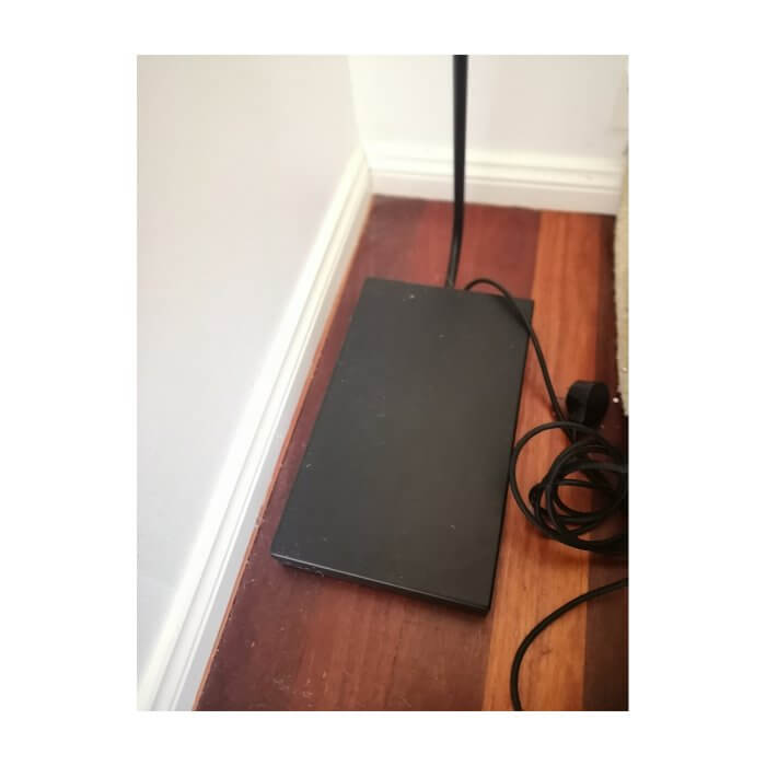 spHaus ET floor lamp matt black