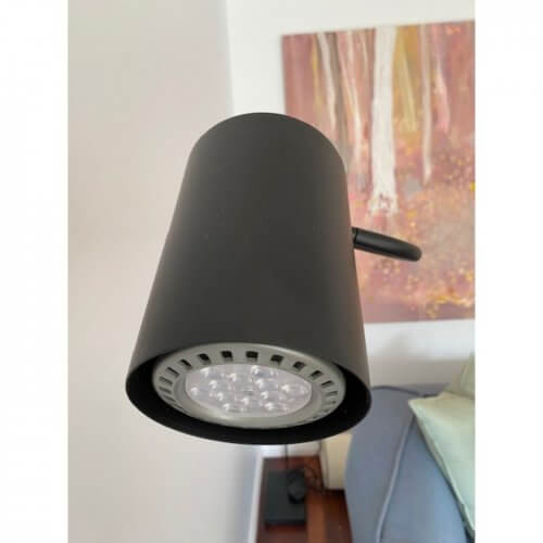 spHaus ET floor lamp matt black