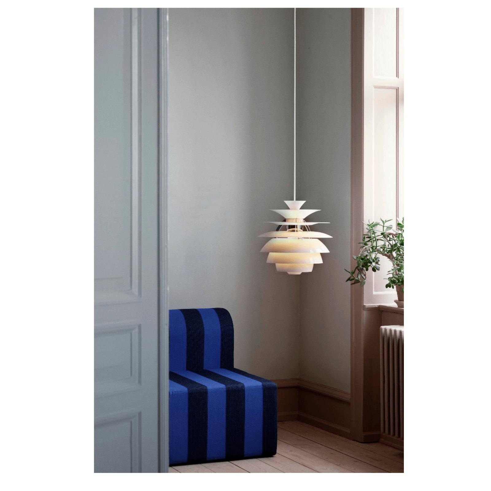 Two Design Lovers Louis Poulsen Snowball Pendant