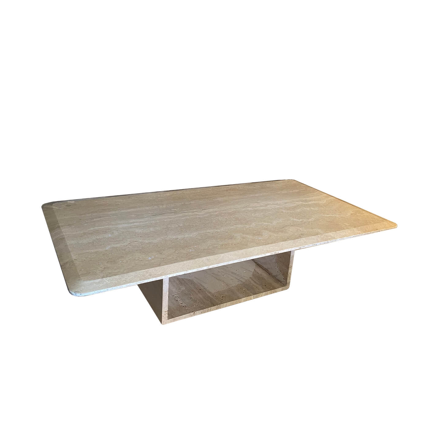Two-Design-Lovers-Travertine Coffee Table