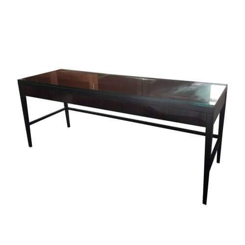Macassar wood console table