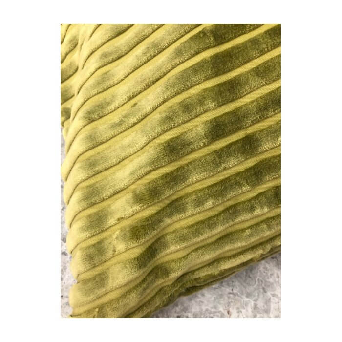 ;issoni Home Coomba ribbed velvet olive green cushions (pair)