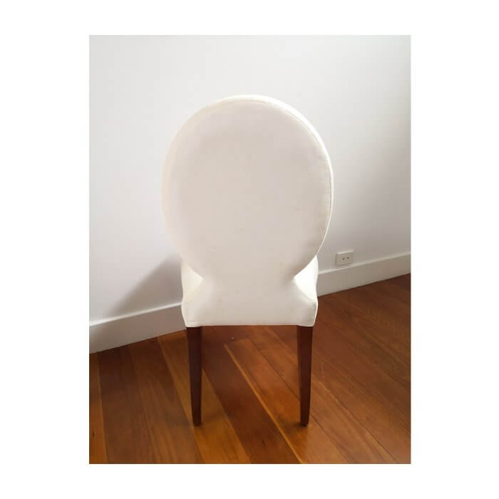 Phillip Silver Waldorf dining chairs