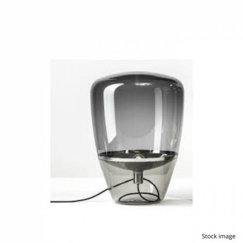 Brokis Balloon lamp in smoked grey glass