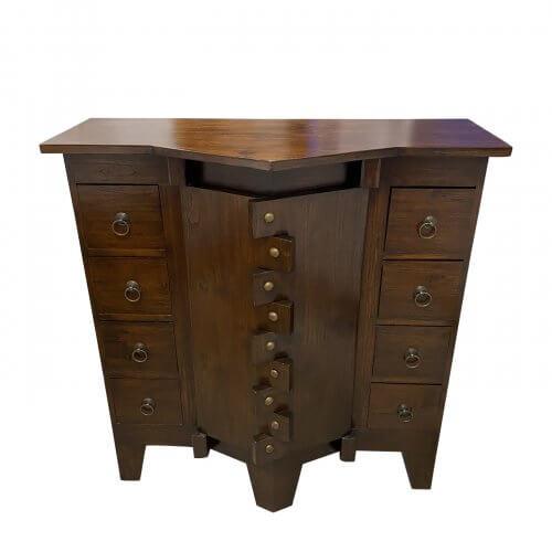 Two Design Lovers Burmese antique temple cabinet