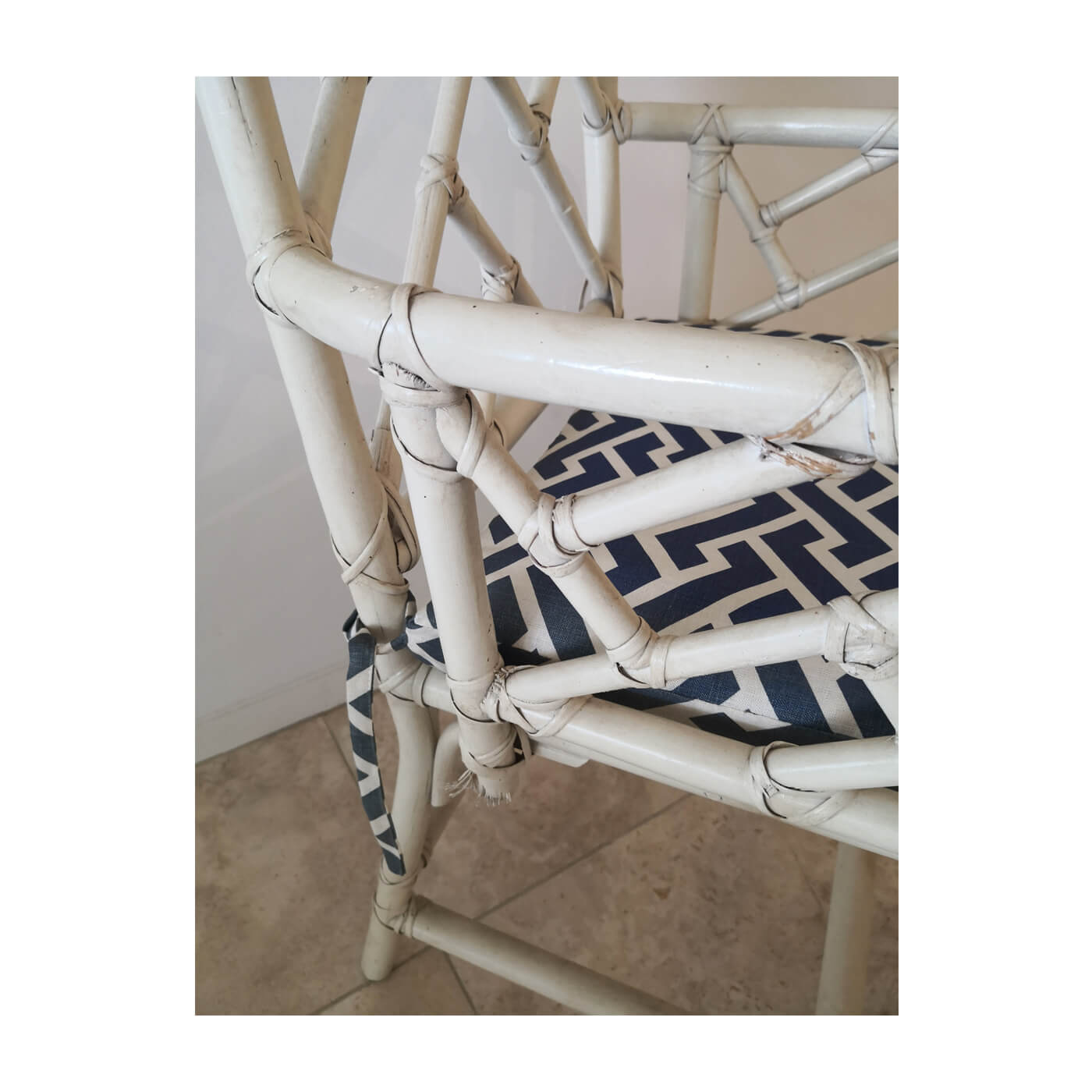 Cane Chinese Chippendale style chair, set of 8
