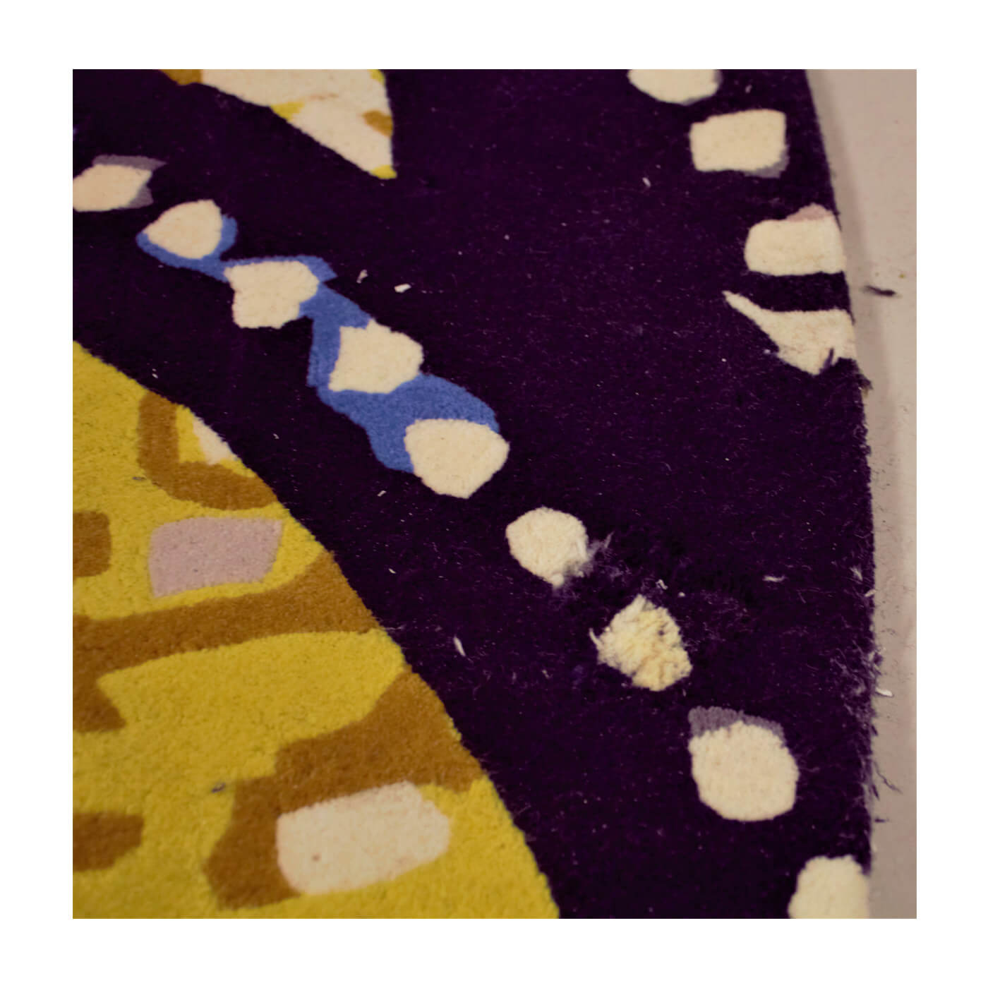 Designer Rugs Eastone Pearson Wishing Well round rug 3.5m in blue and yellow