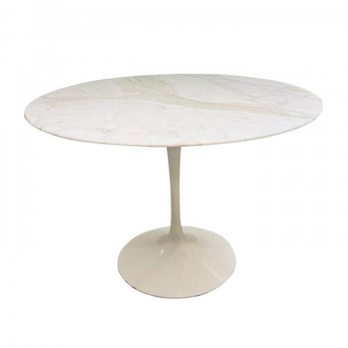 Knoll Saarinen calacutta marble tulip table 120cm