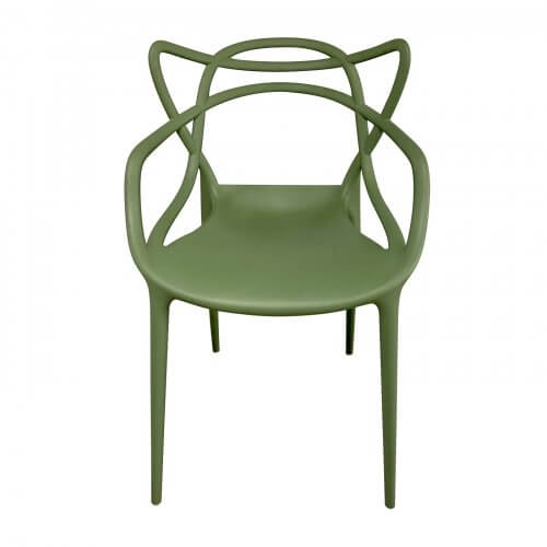 Kartell Masters dining chairs for outdoor or indoor use. Designer outdoor furniture second hand on Two Design Lovers.