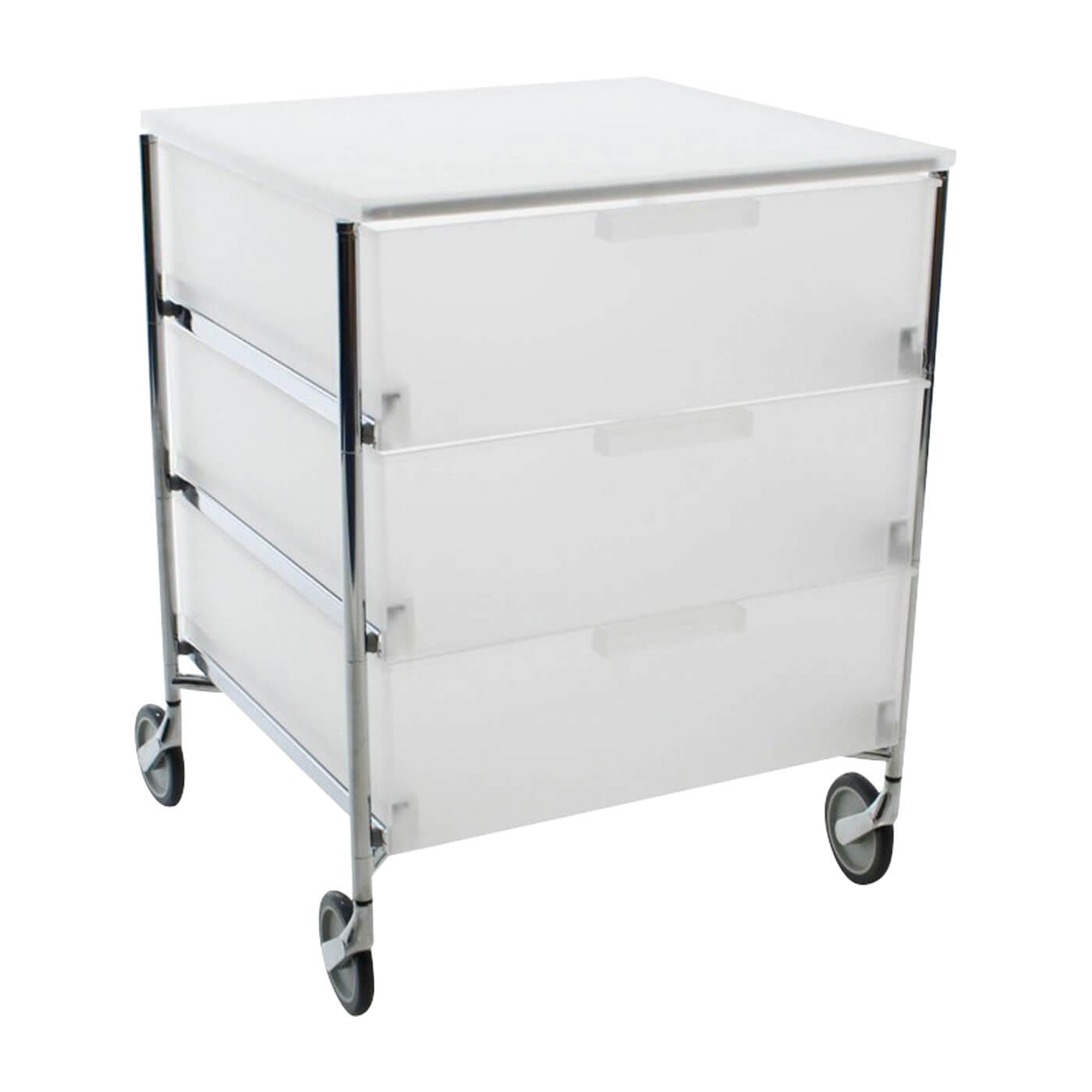 Kartell Mobil drawers iced semi transparent
