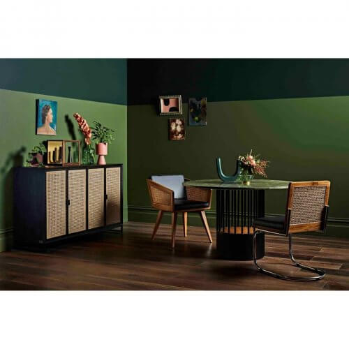Reddie Furniture Suzy rattan sideboard on Two Design Lovers