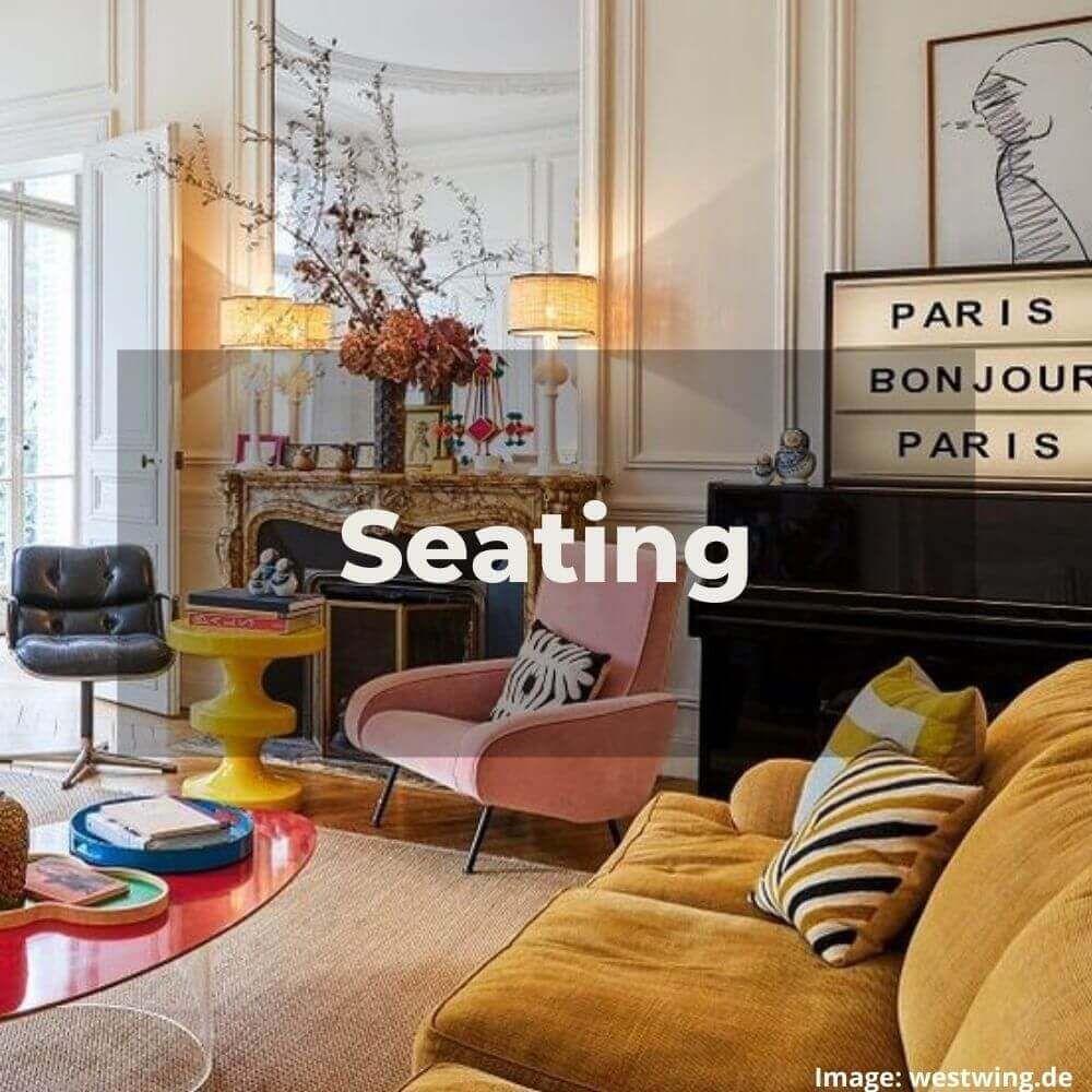 Two Design Lovers designer furniture Seating category