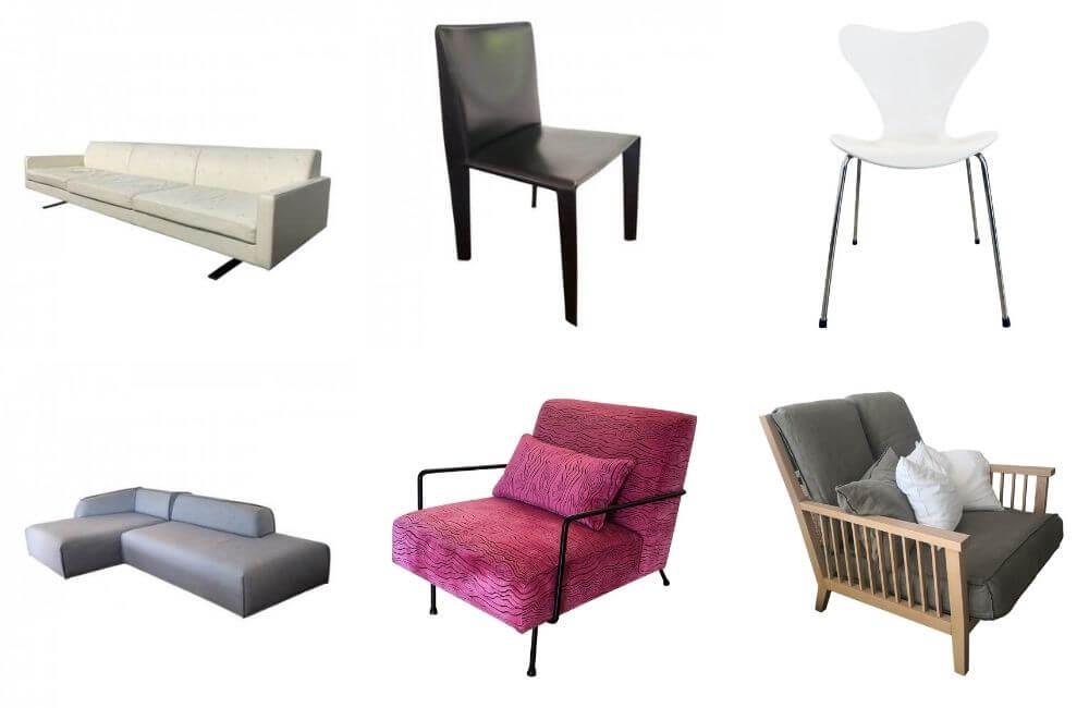 Shop second hand designer seating