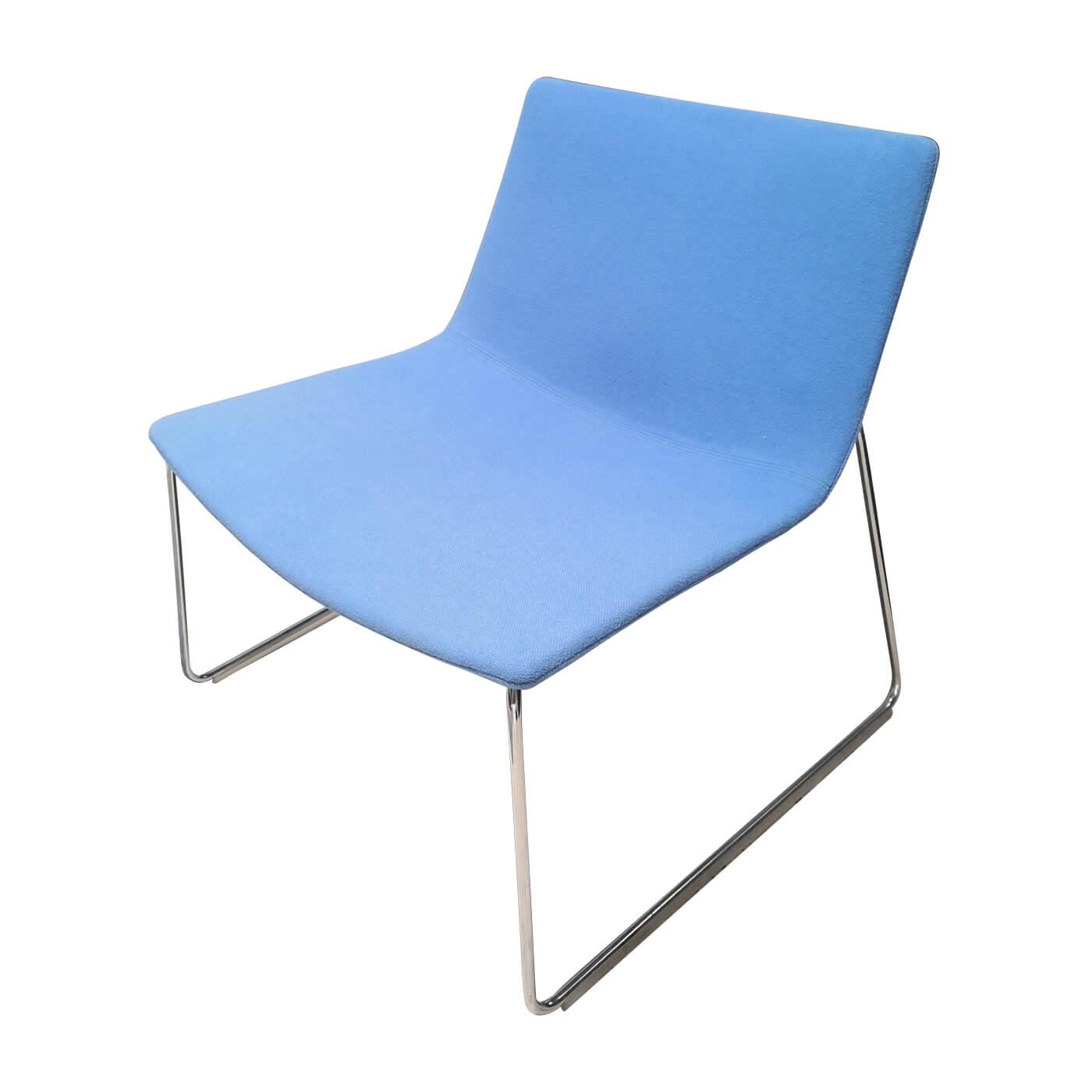Arper Catifa 60 chair in blue, second hand