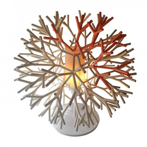 Pallucco via Fanuli coral branch lamp