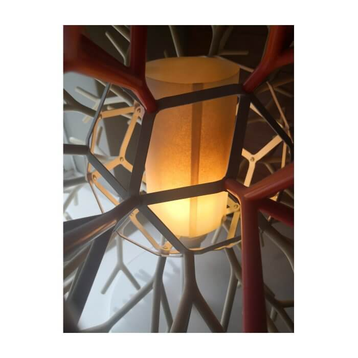 Pallucco via Fanuli coral branch lamp