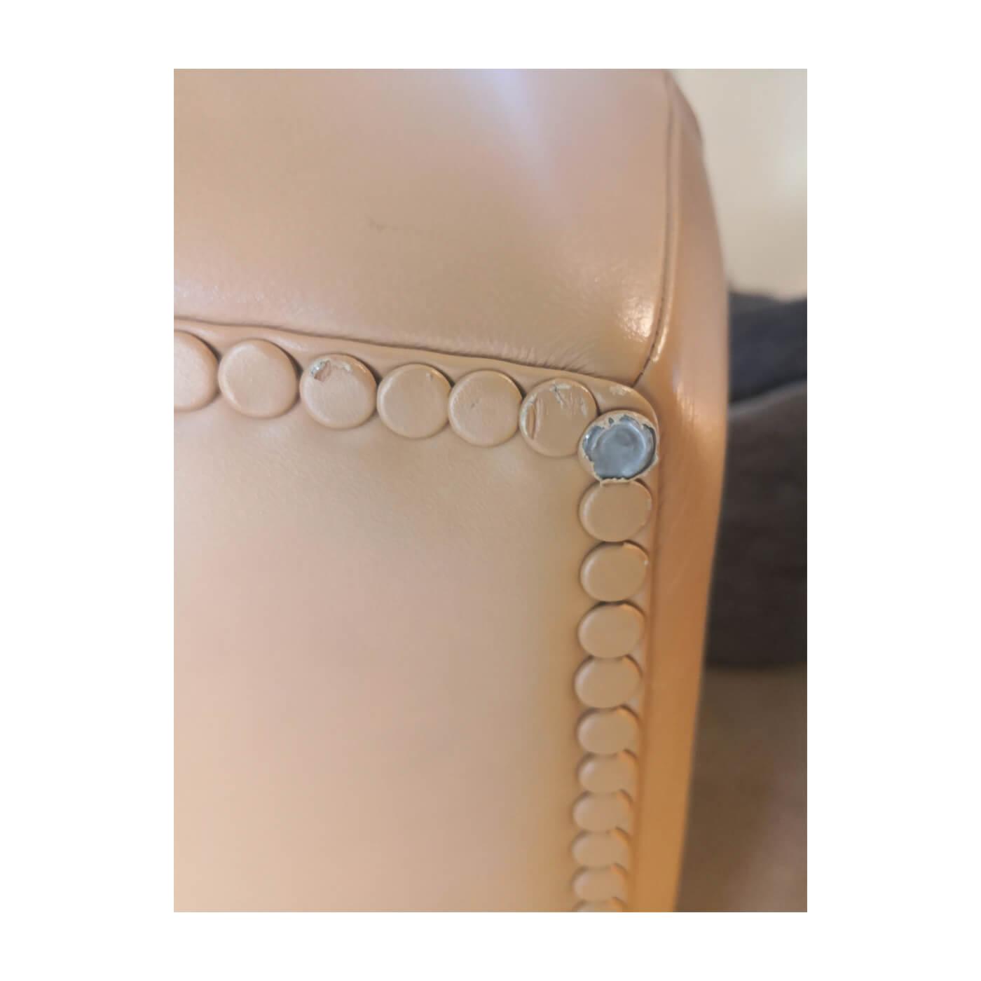 Poltrona Frau Tabarin leather armchair