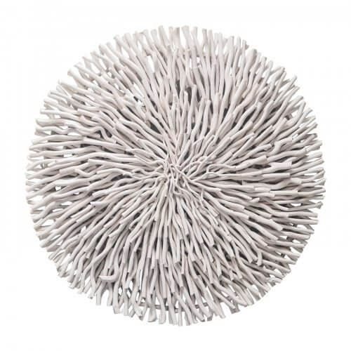 Twig circle wall hanging