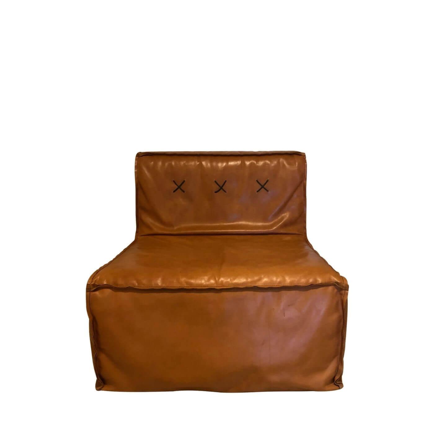 Koskela quadrant soft sofa in leather