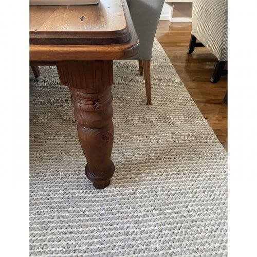 Handcrafted custom dining table