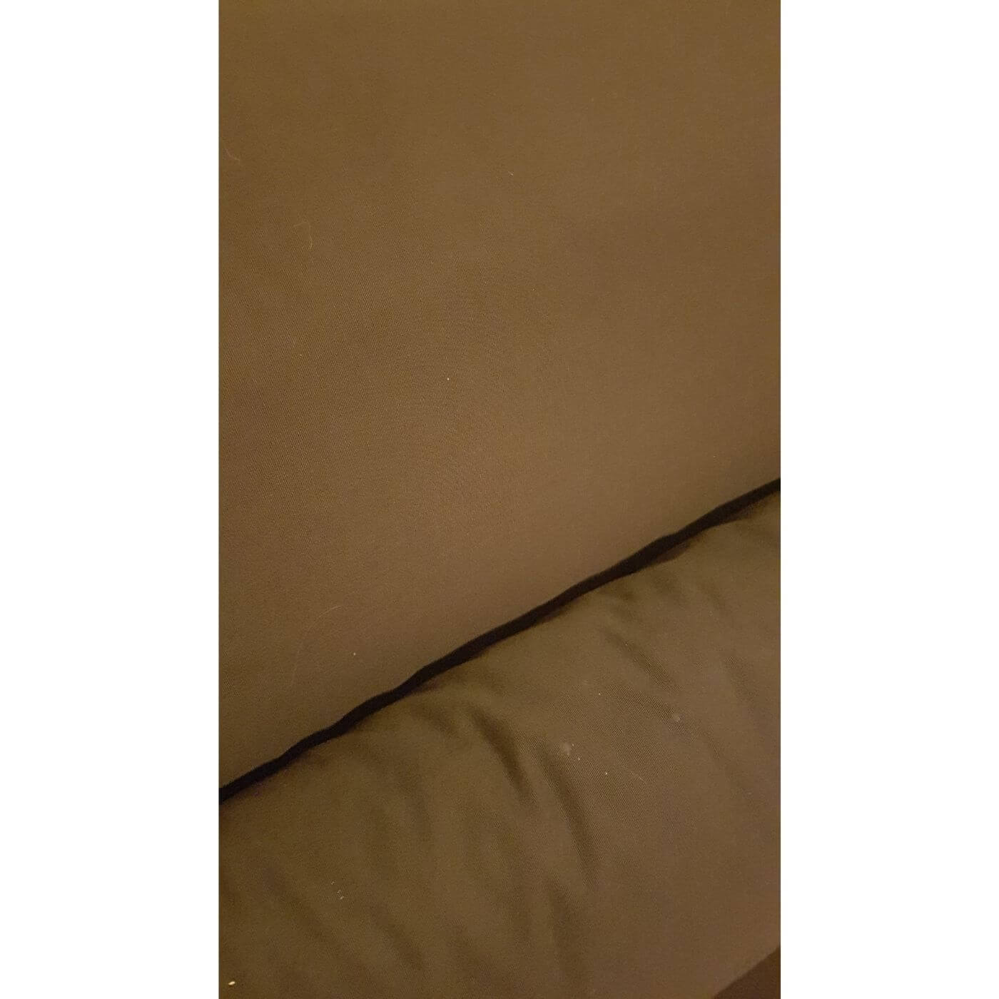 Ligne Roset Multy sofabed in chocolate brown fabric, excellent condition