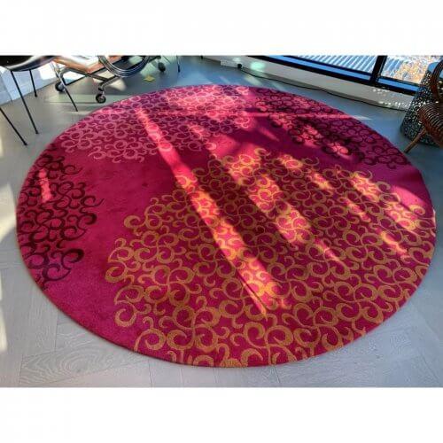 Tsar Carpets Cluster circular rug