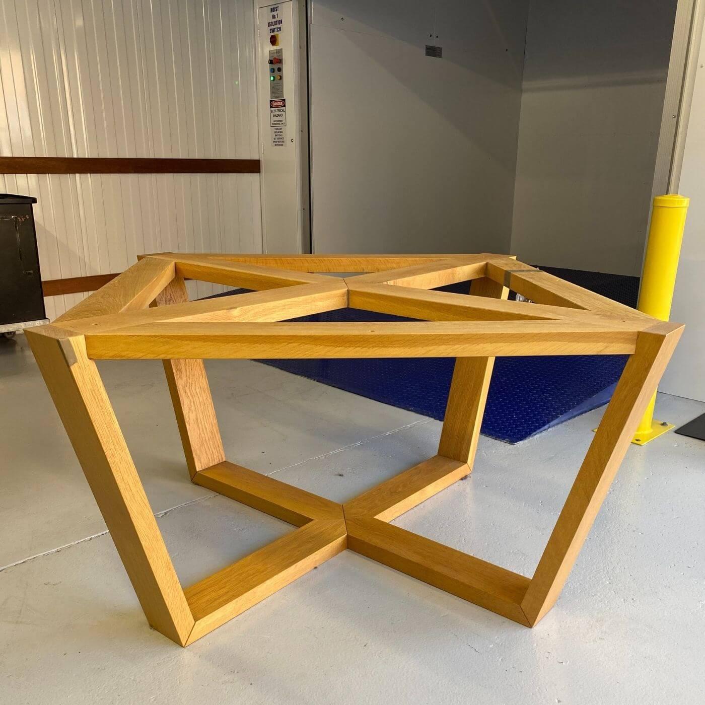 Lowe via Hub Furniture Atticus dining table, round